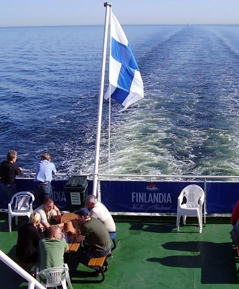Suurin osa alkoholista tulee laivoilla Virosta.