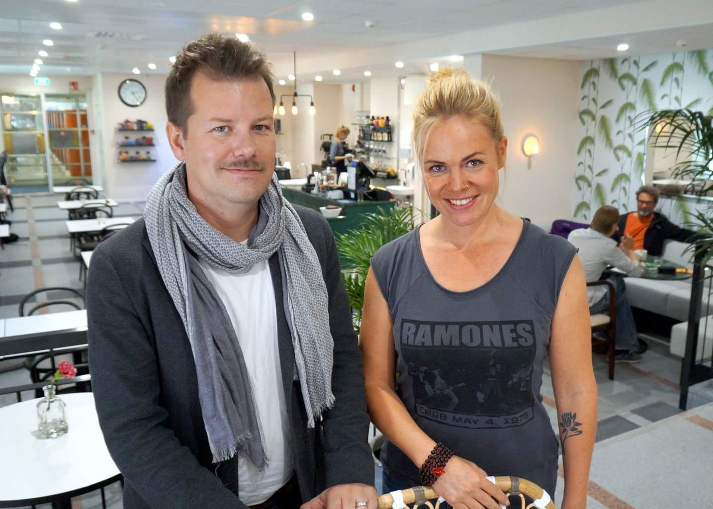 Arto Koskelo ja Maria Markus. Kuva: Heikki Kähkönen.